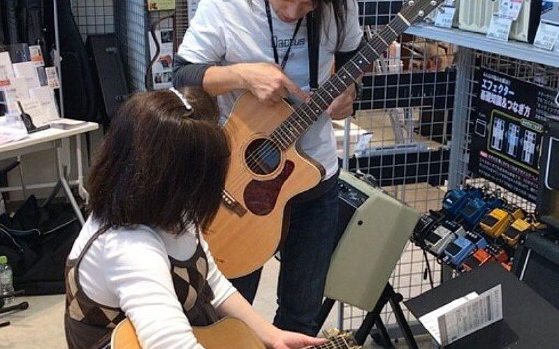 ギター カクタス Qactus 店頭イベント 使い方