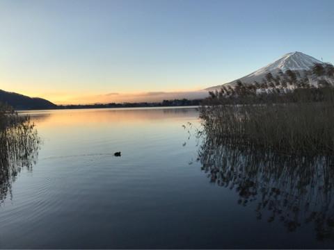 河口湖 湖畔 Q-sai 楽器挫折者救済合宿