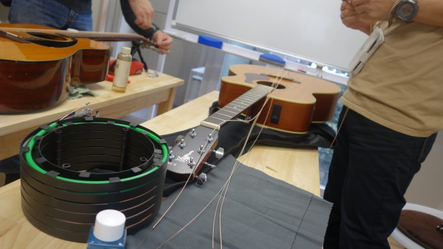弦交換挫折者救済ワークショップ・東京開催終了